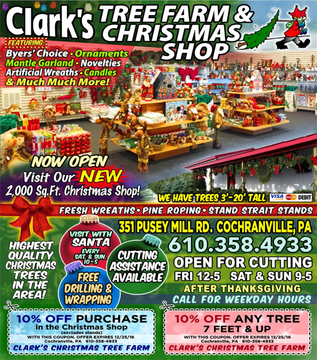 Clark's Christmas Tree Farm and Christmas Shop