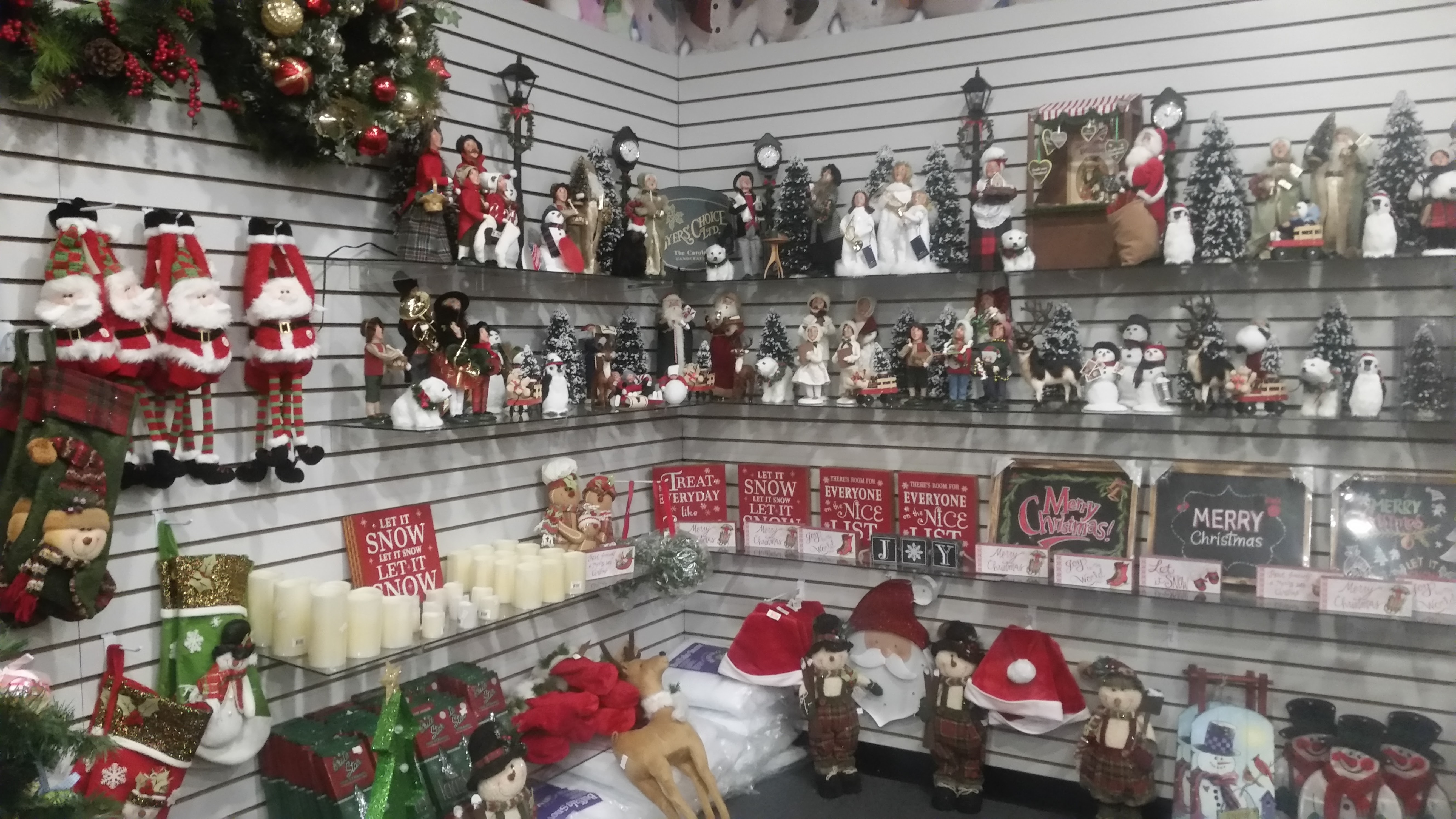 visit our newly expanded christmas shop - The Christmas Shop