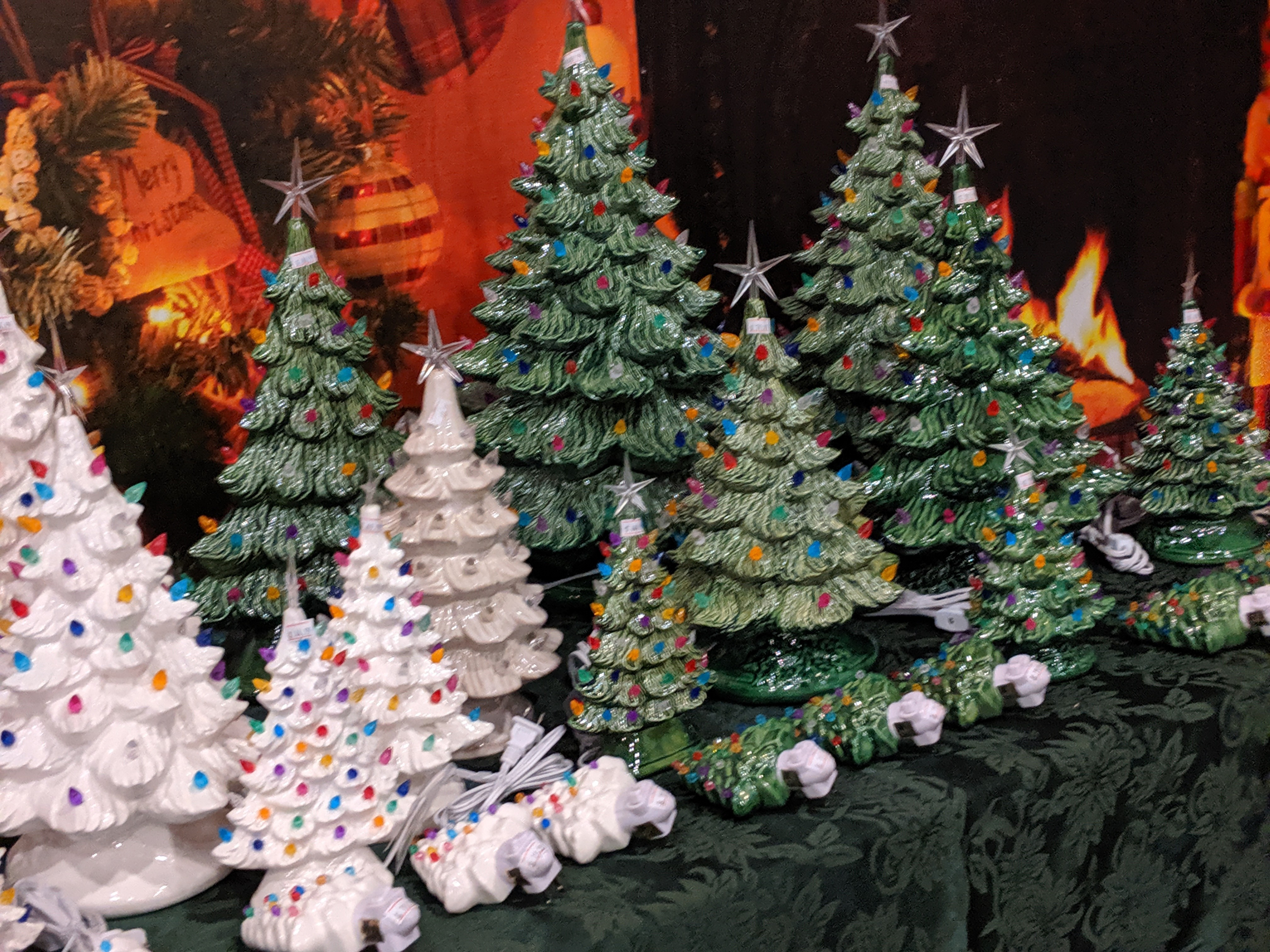 The History Of The Vintage Ceramic Christmas Tree Clark